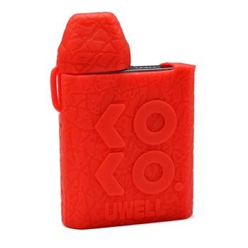Protective silicone case for Uwell Caliburn KOKO KIT VAPE texture cover rubber sleeve wrap shield skin 20pcs