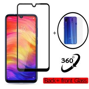 360 przód + tył szkło hartowane Pocophone F1 szkło hartowane Xiaomi Redmi Note 8 Pro Note 7 6 Pro Screen Protector Xiaomi mi A3 A2 szkło Xiaomi Redmi Note 8 Tempered Glass Screen protector