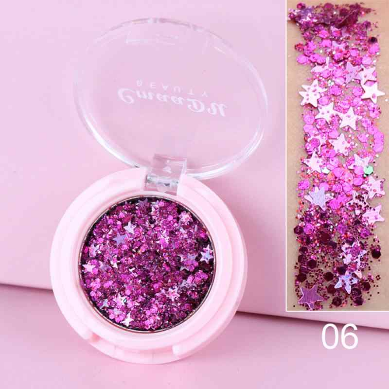 Monochroom Oogschaduw Shimmer Blijvende Stralende Glitter Poeder Pailletten 13 Kleuren Oogschaduw Star Moon Diamond Eyeshadow Make TSLM1