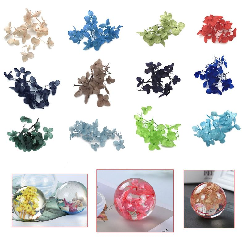 1 Box Dry Flower  Epoxy Resin Crafts Handmade Filling Materials Filler Dried Flowers Time Stone Jewelry Making Desk Decoration