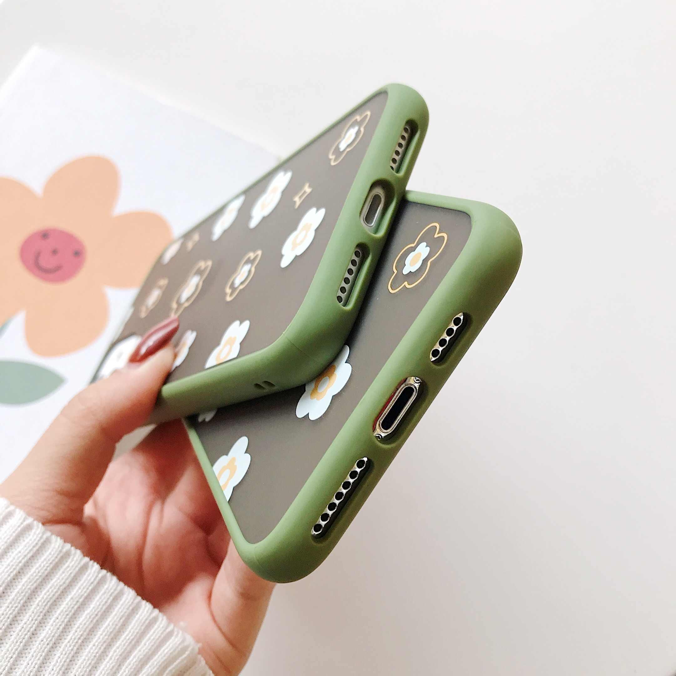 פרחי טלפון כיסוי מקרה עבור Huawei P40 P30 P20 פרו לייט Mate 30 20 כבוד 8X 20 פרו 10 לייט נובה 3i 5 5i פרו V30 מקרה מט מקרה