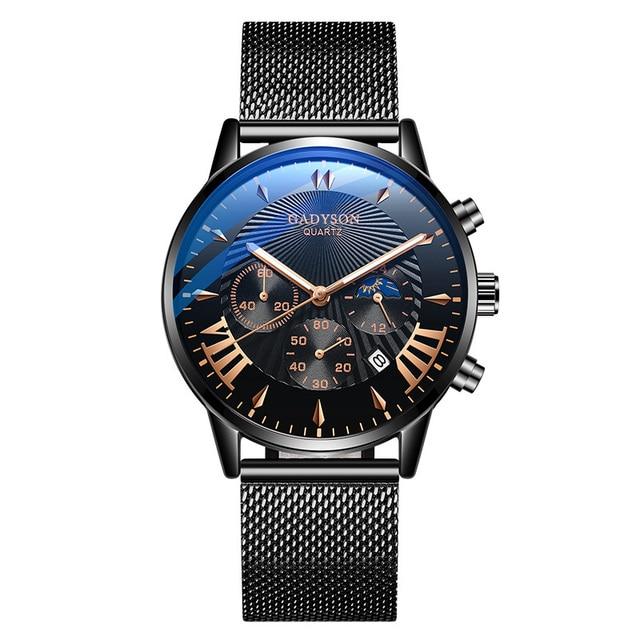 Watches Men Simple Business Quartz Wristwatches Analog Steel Men Watch Casual Male Watch Wrist Clock For Man Relogio Masculino