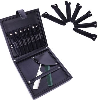 Barber Hair Stylist Pouch Bag Pocket Scissors Clips Storage Case Salon Tool