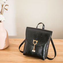 1Pc Backpack Mini Purse Small Backpack Shoulder Rucksack Bag for Women Girls Fashion Letter Mobile Phone Messenger Backpack