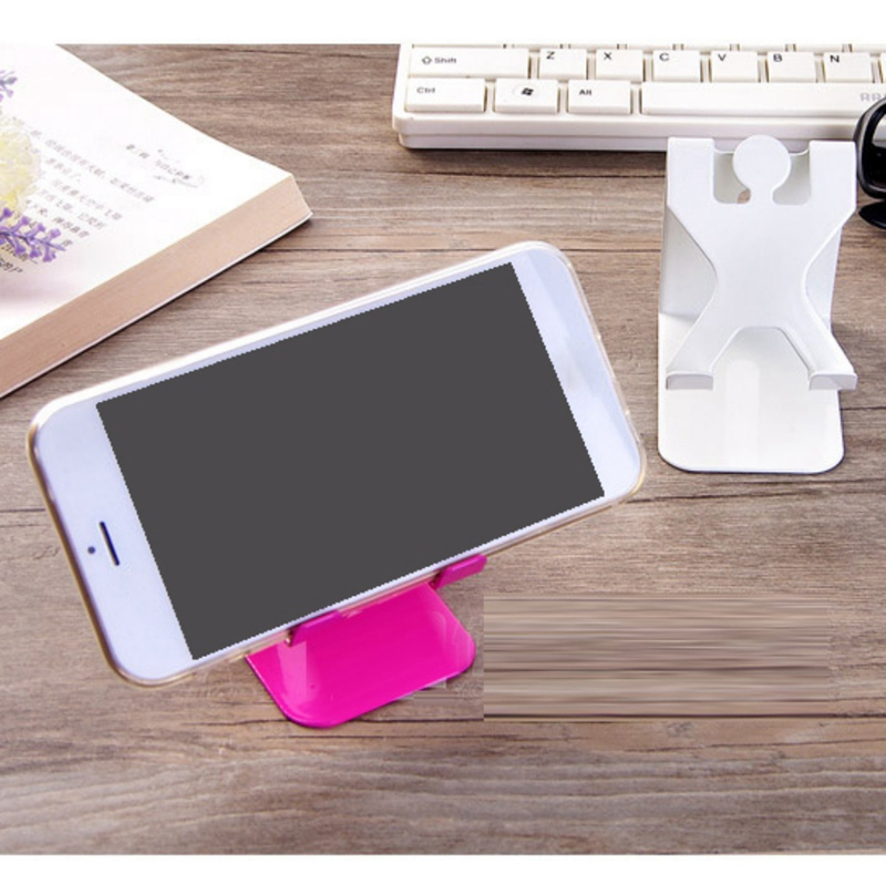Portable Folding Practical Durable Concise Phone Lazy Holder Mount Universal Personality Metal High Quality Phone Stands in Storage Holders Racks from Home Garden