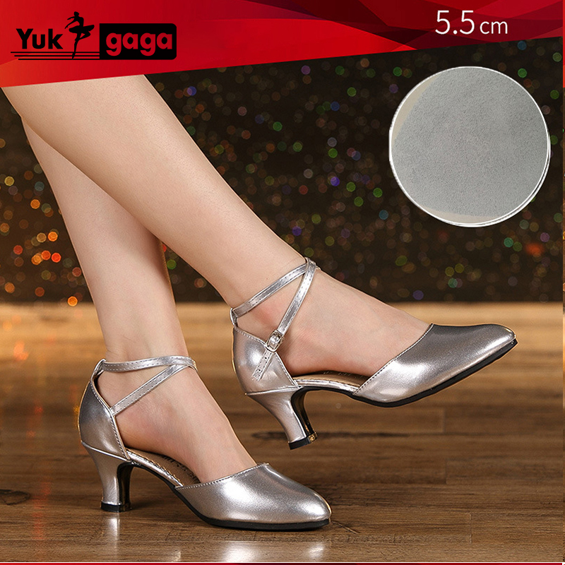 New Ballroom Party Latin Dance Shoes Women/'s Tango Waltz Salsa Dancing Heels