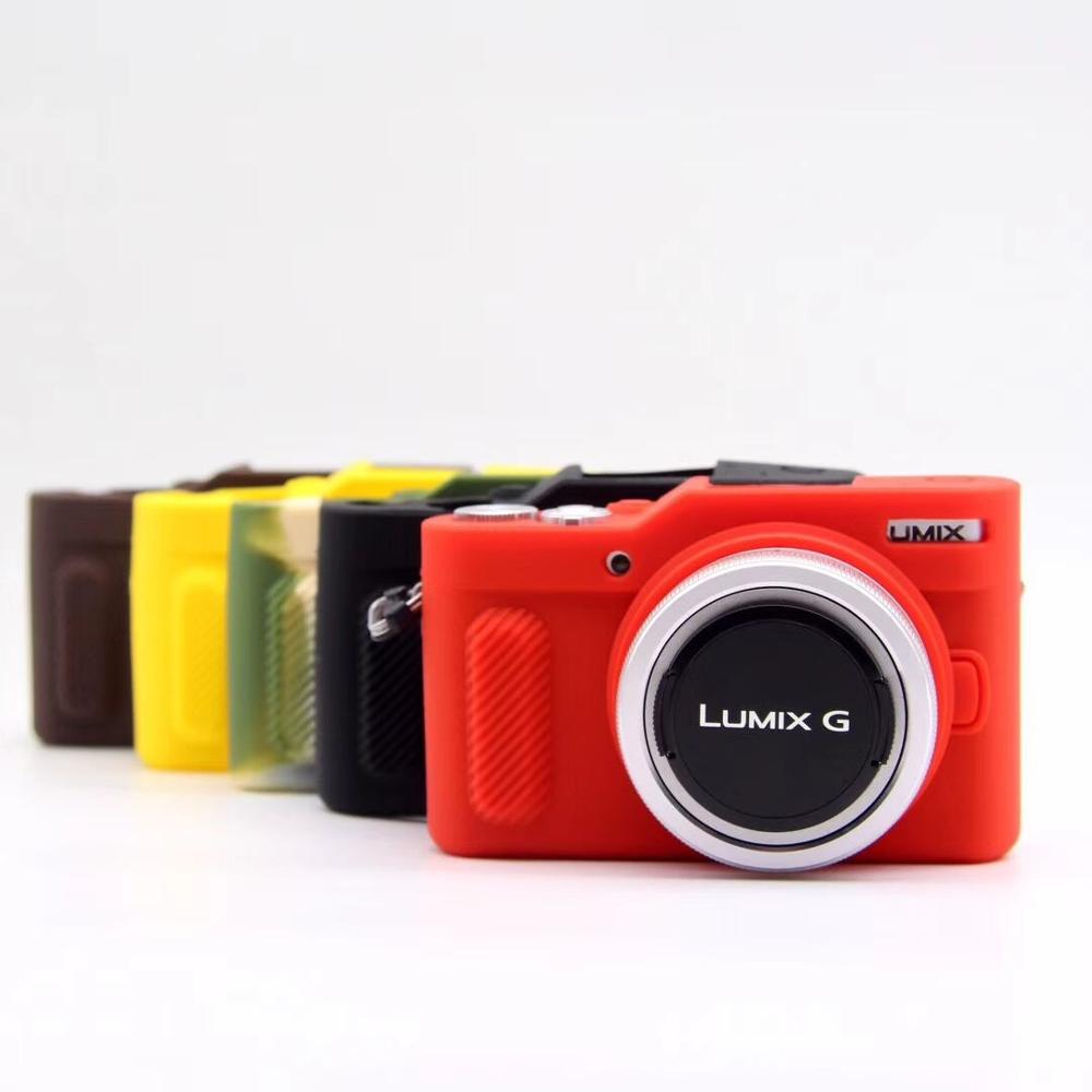 Soft Silicone Camera <font><b>Case</b></font> Bag Protective Body Cover <font><b>Case</b></font> for Panasonic GF10 for <font><b>Lumix</b></font> L-X10 <font><b>LX10</b></font> GF-10 GF7 GF8 GF9 Rubber image