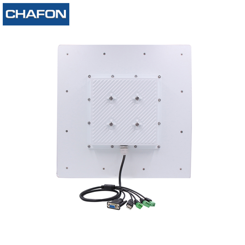 Image 2 - CHAFON 15M long range uhf rfid reader USB RS232 WG26 RELAY with built in 12dbi linear antenna free SDK for car parking-in Control Card Readers from Security & Protection