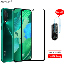 2-in-1 Camera Len Glass Film Huawei Nova 5i Pro Screen Protector Protective 5 Tempered Nova5