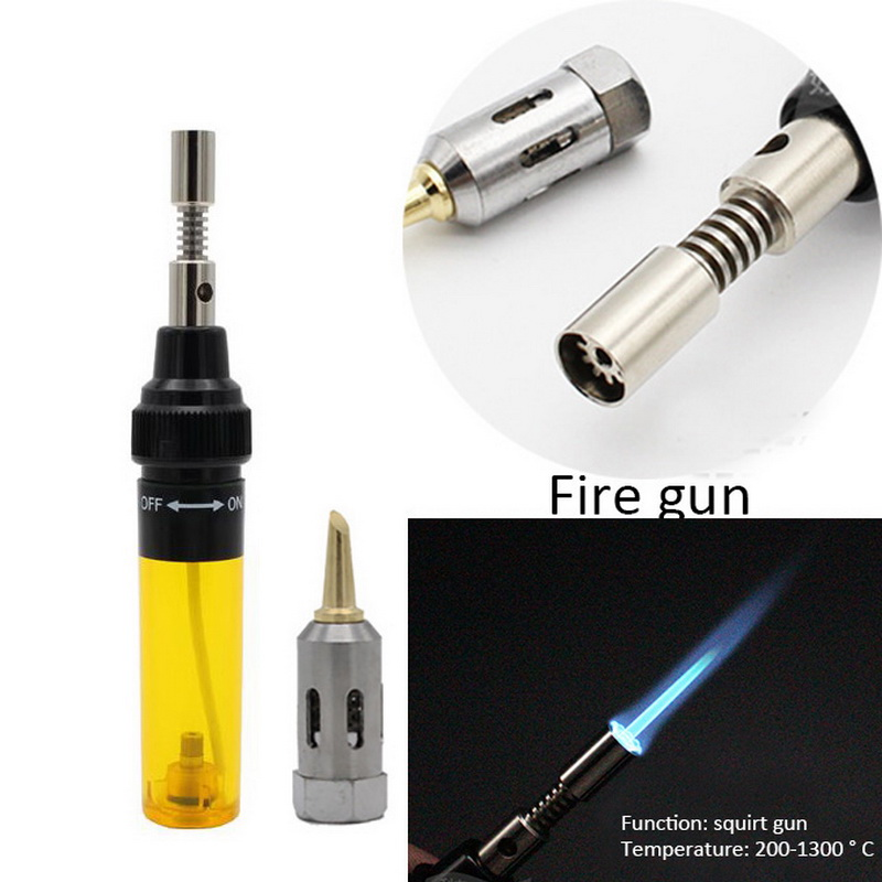Welding Pen Burner Blow Torch 1300 Degree Celsius Butane Gas Welding Soldering Irons Gas Soldering Iron Cordless Butane Tip Tool