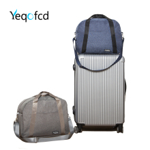 Yeqofcd Portable Duffle Bag Travel Gym Sports Shoulder Bag Luggage Organizer Cationic Oxford Cloth Weekender Bags For Men Women