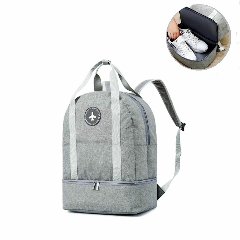 Gym Bags For Women Sport Backpack For Men With Shoe Compartment Large Luggage Travel Bag Yoga Training Bags For Fitness Tote Bag