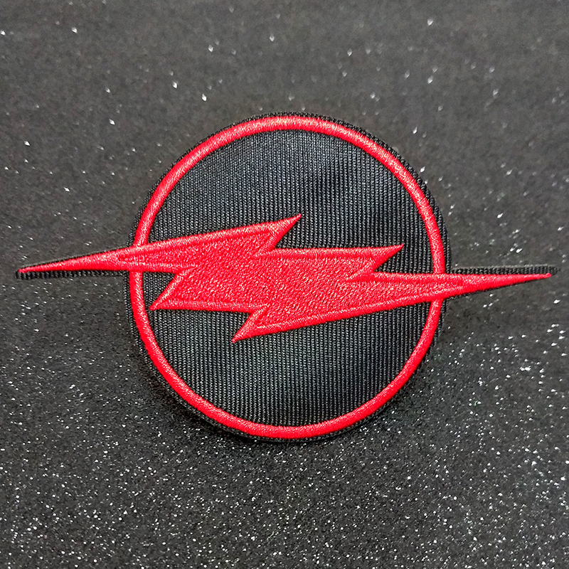 DIY Lightning Patch Rock Bands Patches For Clothing Iron On Stranger Things Stripes Clothes Embroidered Badges