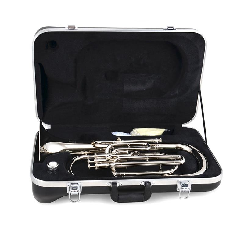 Tenor духовой инструмент b плоский трехклавишный тенор-Горн xiaobo horn baritong латунный инструмент