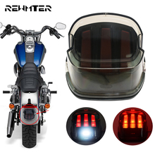 Motorcycle Turn Signal Tail Light Red LED Rear Brake License Plate Stop Lamp For Harley Sportster Dyna Softail Touring FLHR