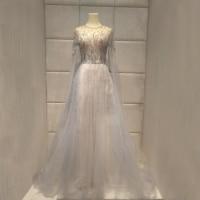 luxurious 2019new evening dresses robe de soiree long dress abiye vestido festa galajurk characteristic Feather