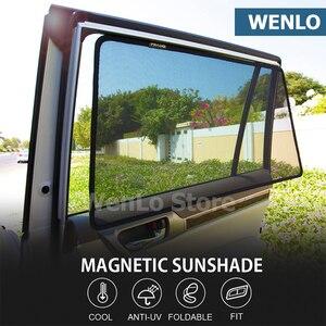 WENLO для Subaru Forester LEVORG OUTBACK WRX STI XV Магнитная Автомобильная боковая оконная Солнцезащитная крышка сетчатая Автомобильная занавеска
