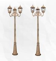 Oferta https://ae01.alicdn.com/kf/Hf966cec49b9e411c92cd42b2dd72faf4s/Lámpara de aluminio clásica de cristal para exteriores luces de jardín luz led exterior para Parque.jpg