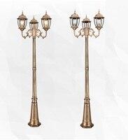Oferta https://ae01.alicdn.com/kf/Hf966cec49b9e411c92cd42b2dd72faf4s/Lámpara de vidrio de aluminio clásica para exteriores luces led de poste para jardín iluminación exterior.jpg