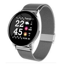LYKL Смарт-часы W8 для мужчин женщин кровяное давление фитнес-трекер для измерения сердечного ритма шагомер мужские спортивные Смарт-часы для Android IOS