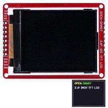 """3.3 فولت 2.0 """"176*220 المسلسل SPI TFT LCD درع لوحة القطع وحدة مع مصلحة الارصاد الجوية دبابيس لاردوينو نانو برو Mini UNO R3 Mega2560"""