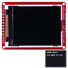 "3.3V 2.0 ""176*220 Serial Spi Tft Lcd Shield Breakout Board Module Met Smd Pins Voor Arduino nano Pro Mini Uno R3 Mega2560"