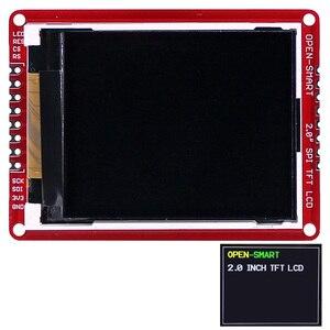 """Image 1 - 3.3V 2.0 """"176*220 szeregowy SPI TFT ekran LCD moduł tabliczki zaciskowej z SMD pins dla Arduino Nano Pro Mini UNO R3 Mega2560"""