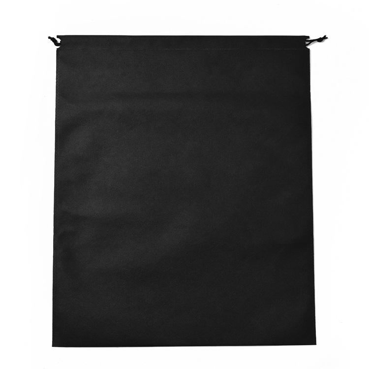 50pcs/lot 45x55cm Large Big Size Drawstring Non-woven Bag For Travelling Protable Clothing Storage Bag Personalize Custom Logo