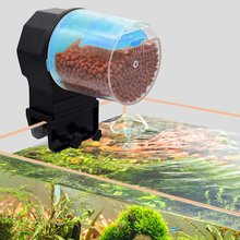 Automatic Fish Feeder Moisture-proof Electric Fish Feeder Intelligent Timing For Holiday Vacation Aquarium  Aquarium Filter