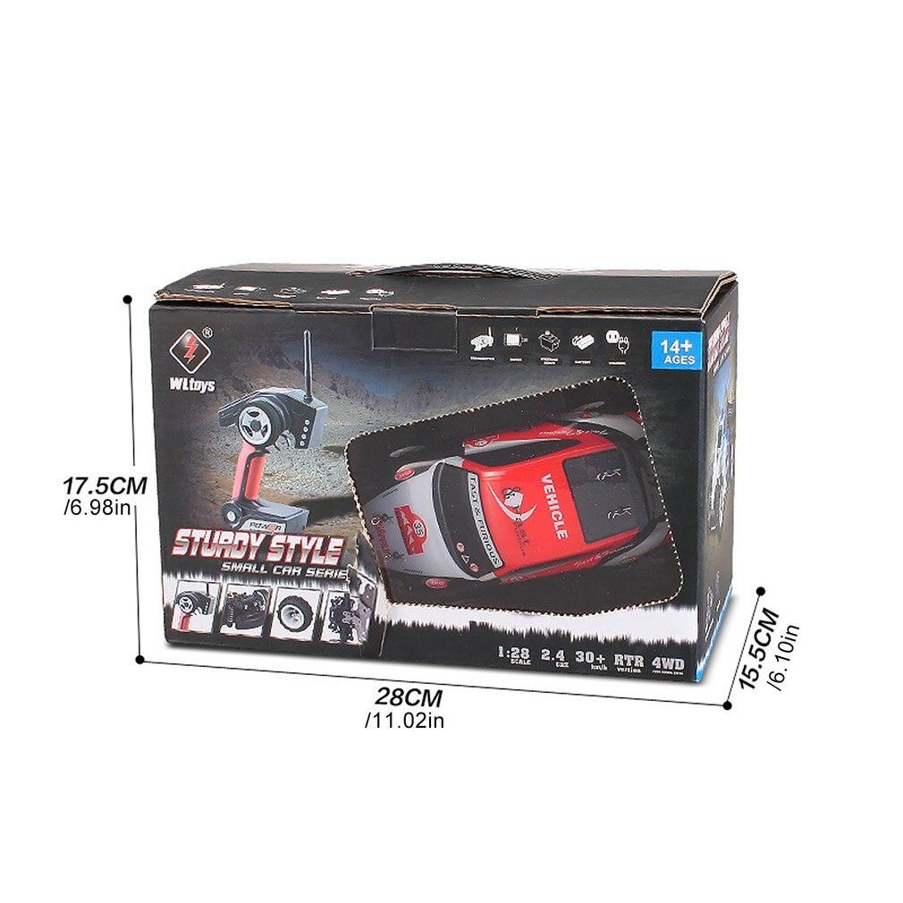 Детская Игрушечная машина с дистанционным управлением модель автомобиля дрейф автомобиль от 1 до 28 Электрический скоростной гоночный авто... - 6