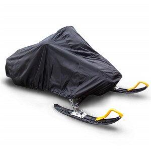 Image 5 - Osłona na skuter śnieżny wodoodporna osłona przeciwpyłowa zakryte przechowywanie anty uv uniwersalna osłona zimowa Motorcyle Outdoor 368x130x121cm