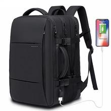 45L Erweiterbar Große Kapazität Reise Rucksack Männer 15,6 zoll Laptop Rucksack Reise FAA Flug Genehmigt Weekender Tasche für frauen