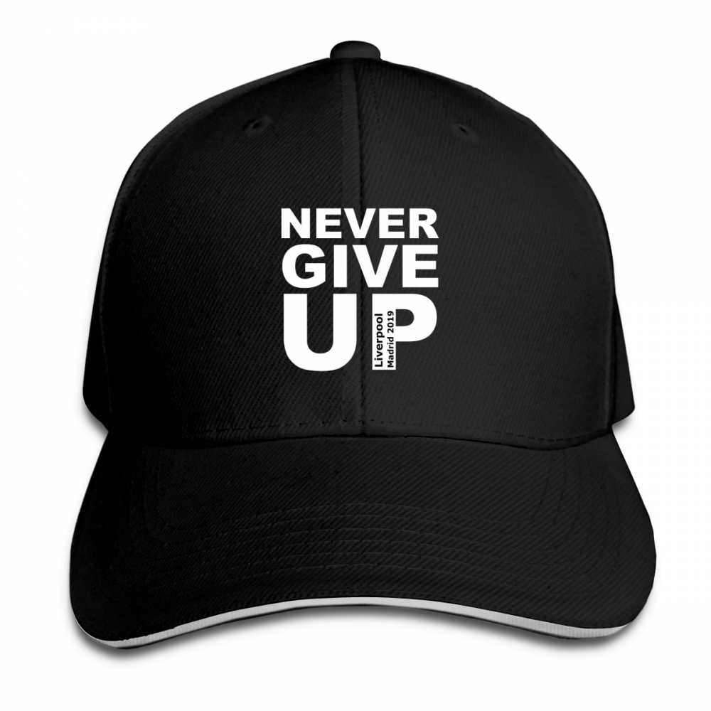 Mens Womens 2019 You'll Never Walk Alone Never Give-up Liverpool Fans Print Baseball Cap