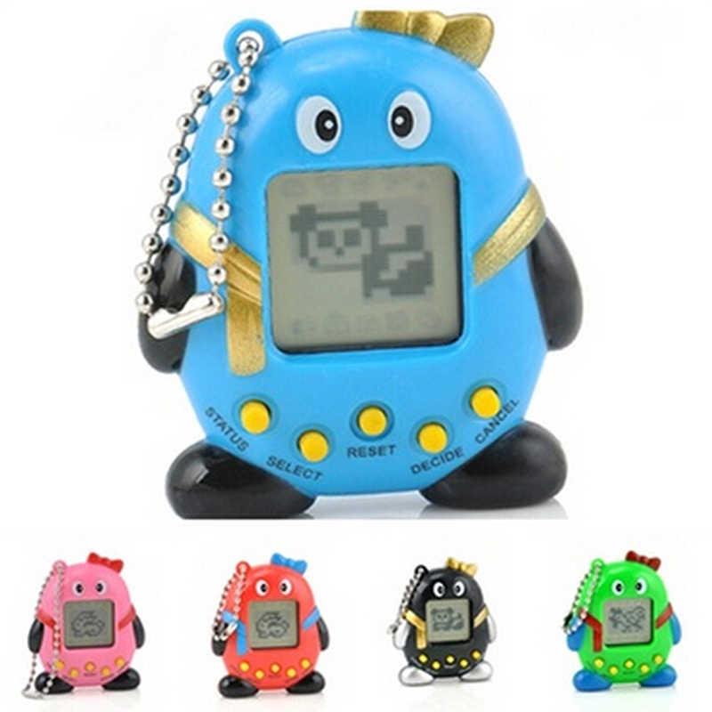 חיות מחמד באיכות גבוהה נוסטלגי וירטואלי לחיות מחמד Cyber דיגיטלית לחיות מחמד חיות מחמד טמגוצ 'י פינגווינים לחיות מחמד מתנת צעצוע כף יד משחק מכונת