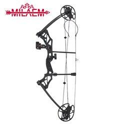 1 zestaw związek łuk 30 70 kg regulowany IBO 320 klatek na sekundę 16 31 cal długość odcinka łuk do polowań potężny odkryty do uprawiania sportu  na polowania łuk|Łuki i strzały|   -