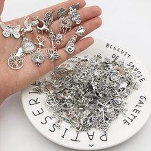 30 sztuk mieszane w stylu Vintage Metal zwierząt ptaki wisiorki koraliki DIY bransoletka wisiorek naszyjnik akcesoria do komponenty do wyrobu biżuterii