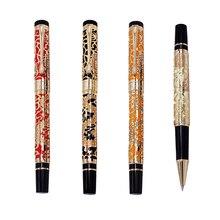 Penna a sfera di lusso di alta qualità Jinhao 5000 Dragon Clip dorata penna a sfera direzionale cancelleria penna regalo per ufficio aziendale