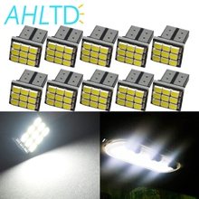 цена на 10X Car Styling White T10 W5W 1206 3020 9 SMD Car LED Auto Marker Backup Bulb Interior Lamps Parking Light Clearance Bulb 12V DC