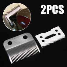 2 шт./компл. клипер лезвие резак острые волосы борода керамические лезвия резак+ металлическое дно с коробкой для Wahl ножницы Клипер