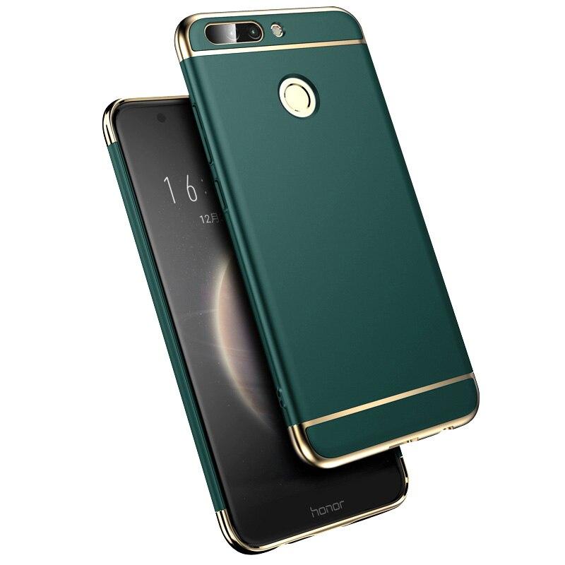 Luxe Plating Telefoon Geval Voor Huawei Mate 20 30 40 Pro P20 P30 P40 Lite Honor 10 Lite 20 30 pc Matte Hard 360 Volledige Cover Case