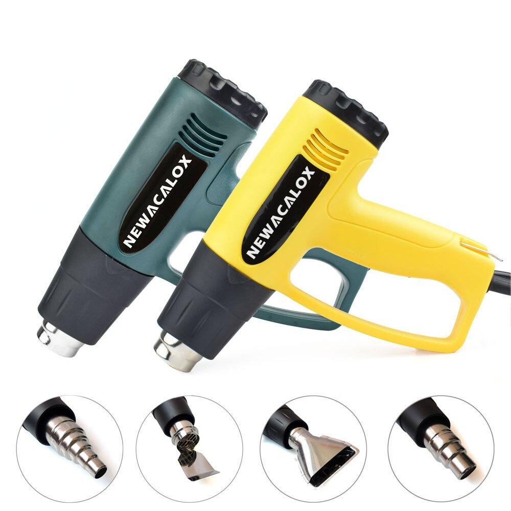 NEWACALOX soojuspüstol 2000W EU 220V tööstuslik elektriline - Elektrilised tööriistad - Foto 6