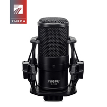 YUEPU S-300 Professional Condenser Microphone Audio Recording Broadcasting Studio Phantom Power 48V