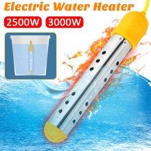Portátil 3000w flutuante aquecedor elétrico caldeira 220v elemento de aquecimento água suspensão imersão portátil banheiro piscina