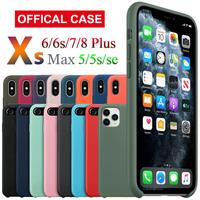 case iphone 5 Luxury Thin Soft Color Phone Case for iPhone 7 8 6 6s plus 5 5s SE Case Silicone Back Cover Capa for iPhone X Xs 11 Pro Max XR (1)