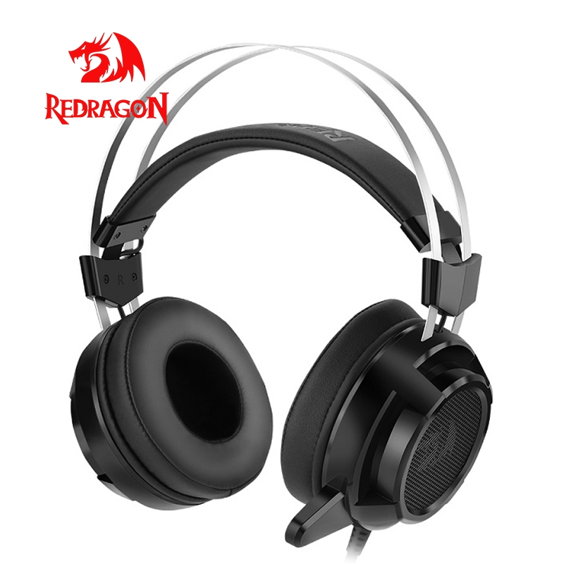 Redragon SIREN H301 Gaming Headset Gamer USB For PC PS4 Xbox Switch Surround Pro Wired Computer