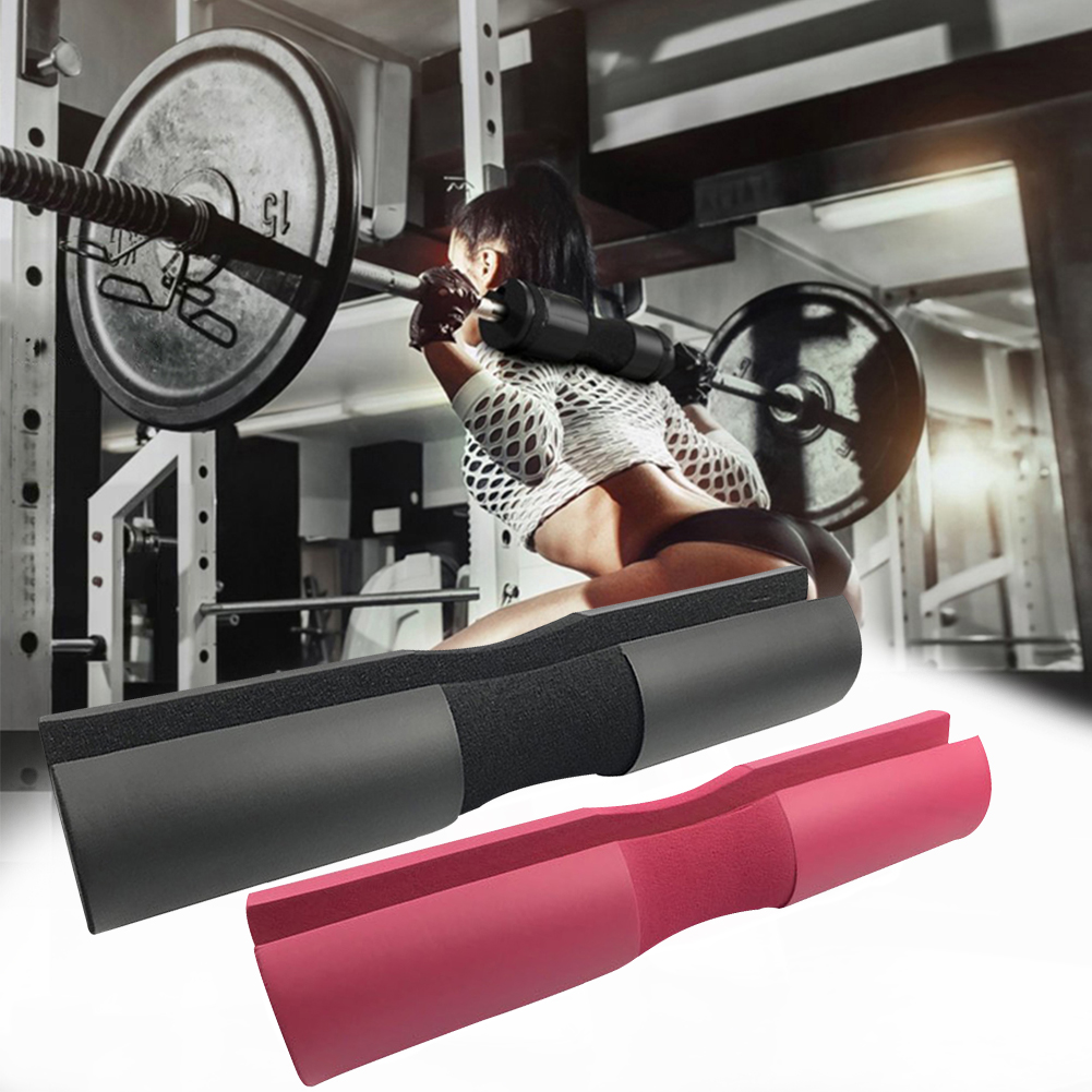 Foam Barbell Pad Cover Squat Pad For Gym Weight Lifting Cushioned Shoulder Back Support Neck Shoulder