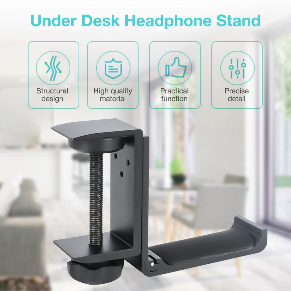 Universal Earphone Holder Hook Gaming Headset Hanger Holder Headphone Stand for Earphone Hanging Mount Stand Accessories