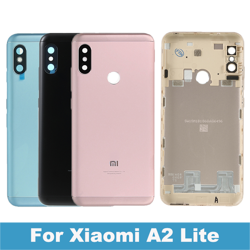 <font><b>Xiaomi</b></font> <font><b>mi</b></font> <font><b>A2</b></font> Lite Back <font><b>Battery</b></font> <font><b>Cover</b></font> Door Rear Housing Case Redmi 6 Pro <font><b>Battery</b></font> <font><b>Cover</b></font> Repair Spare Parts+ Power Volume Button image