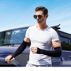 Unisex sleeves arms football cycling arm