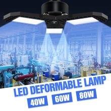Светодиодный лампы e27 гараж светильник 40 Вт 60 80 склад bombilla